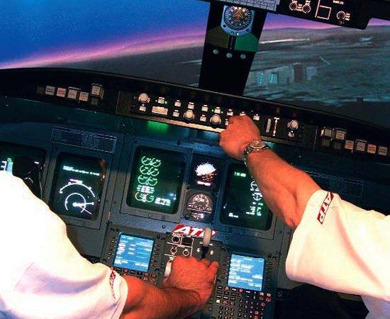 simulatore addestramento piloti di linea