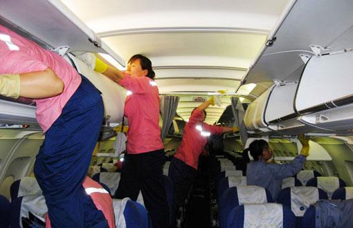 pulizie aereo