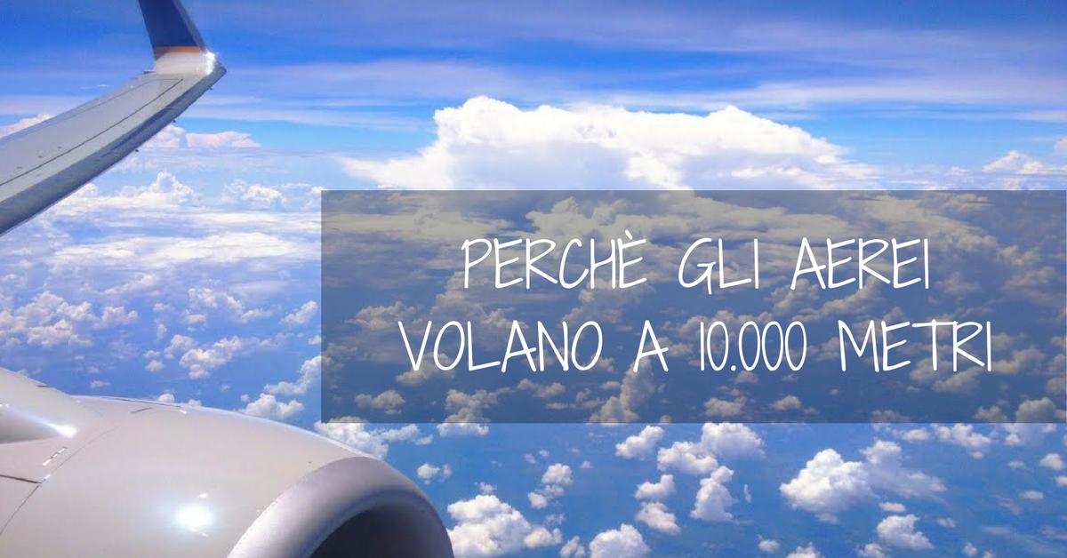 altezza volo aereo