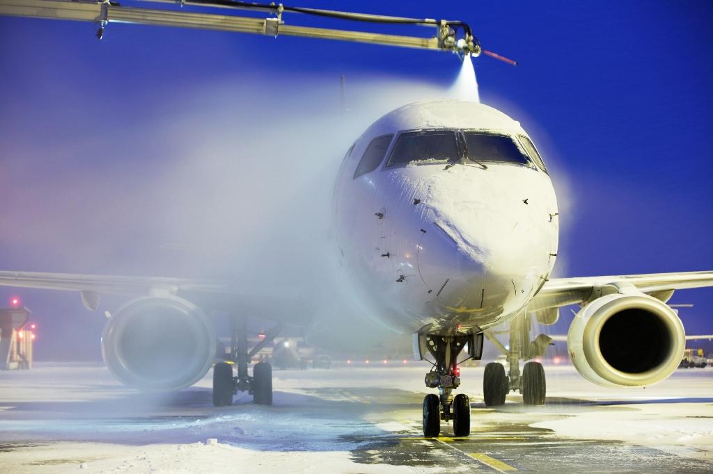 Aircraft de-icing