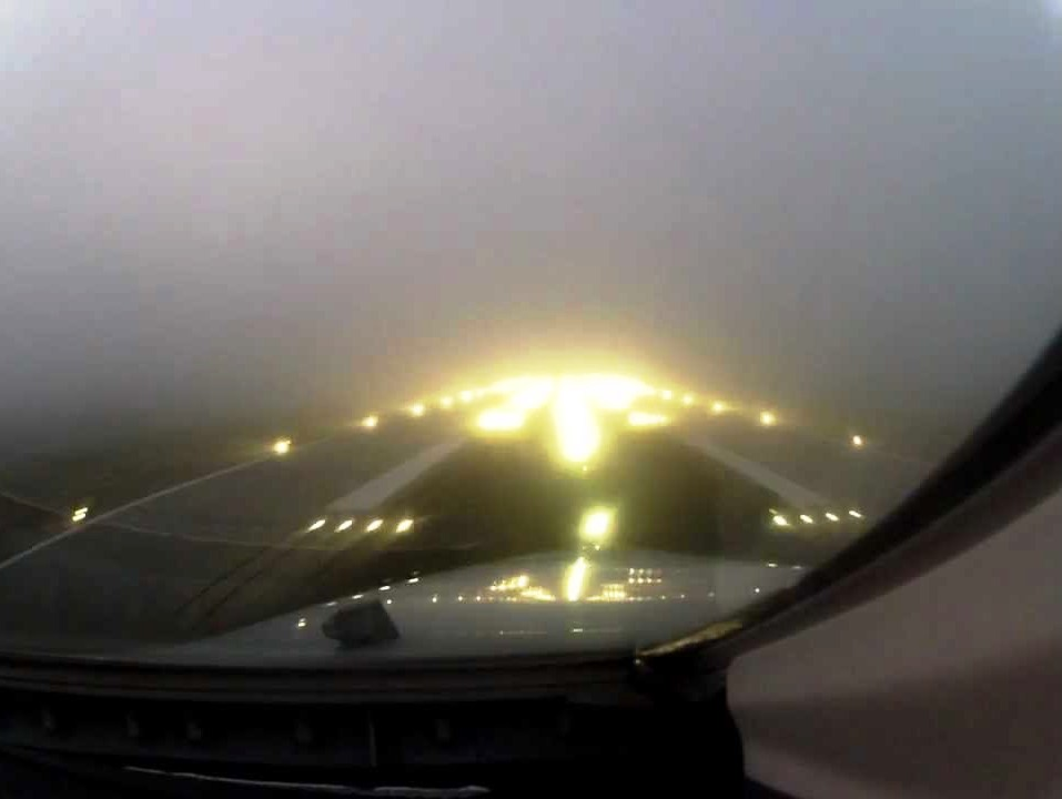 atterraggio nebbia