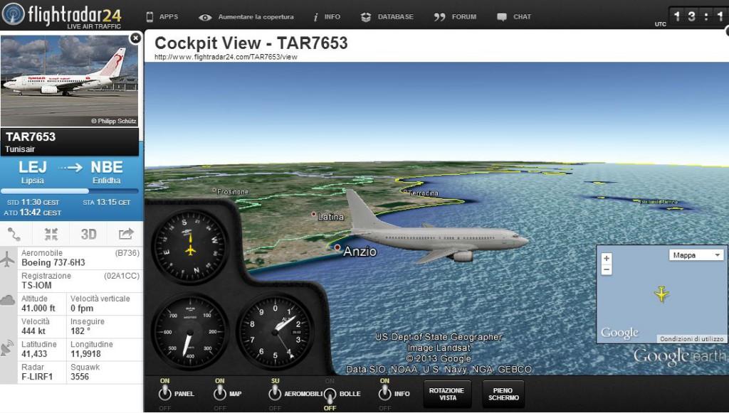 Flightradar24-3D-Cockpit-View-vista-aereo