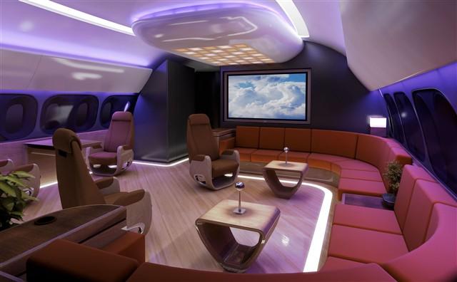 Boeing Business Jet - 787 Interior Concept