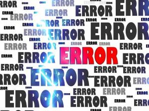 errore umano
