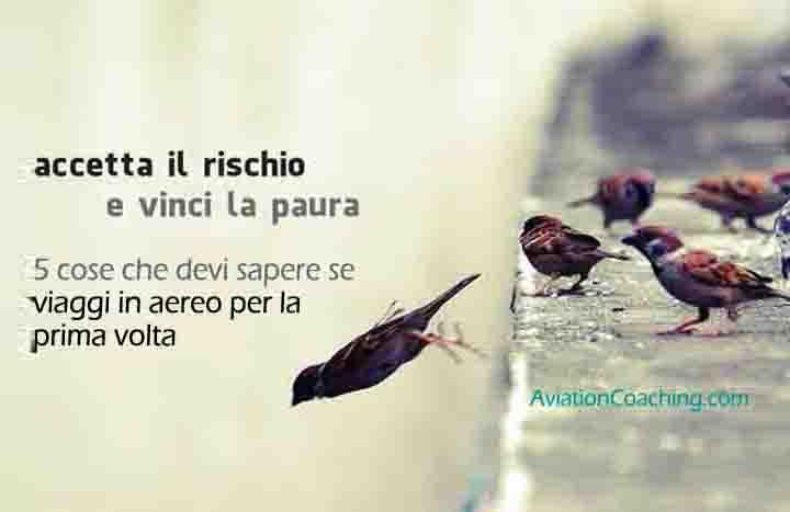 volare prima volta