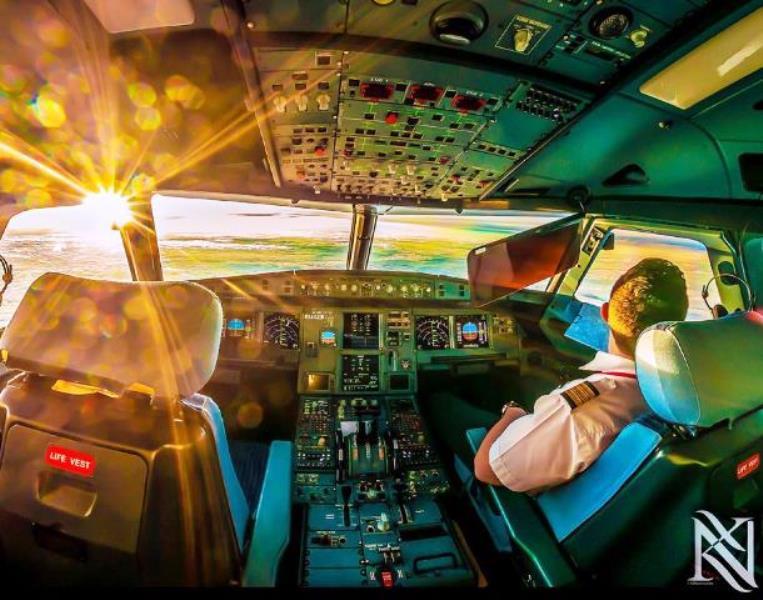 cabina pilotaggio