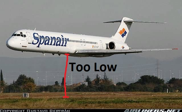 velocità bassa aereo