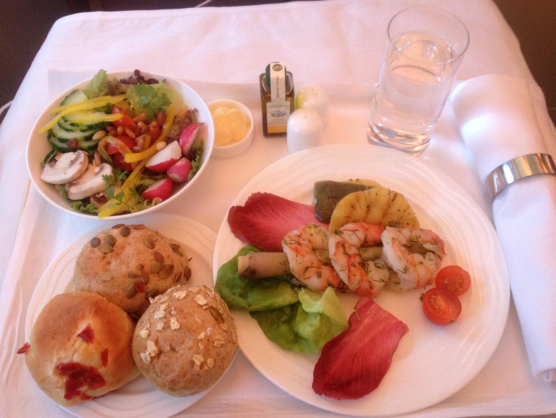 cibo in aereo