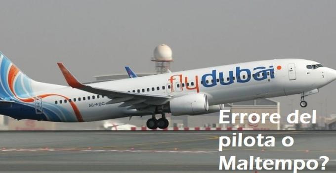 flydubai incidente