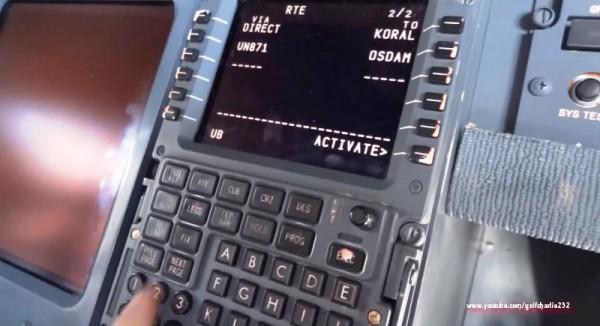 computer di bordo aereo