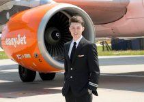 pilota giovane adolescente