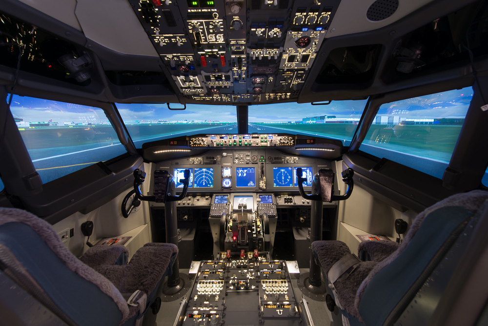 La mia esperienza sul simulatore di volo al centro for Simulatore di arredamento