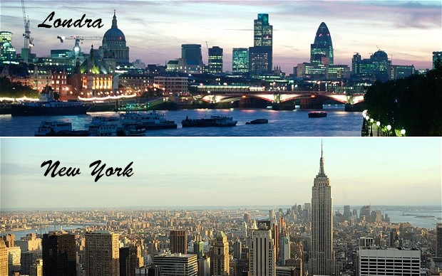 londra new-york