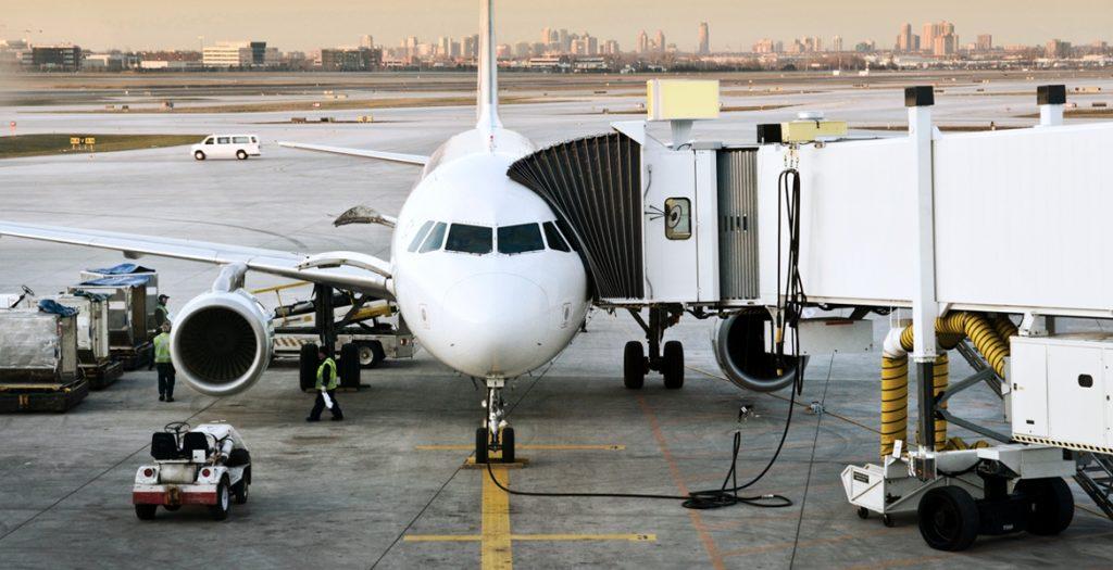 aereo al gate