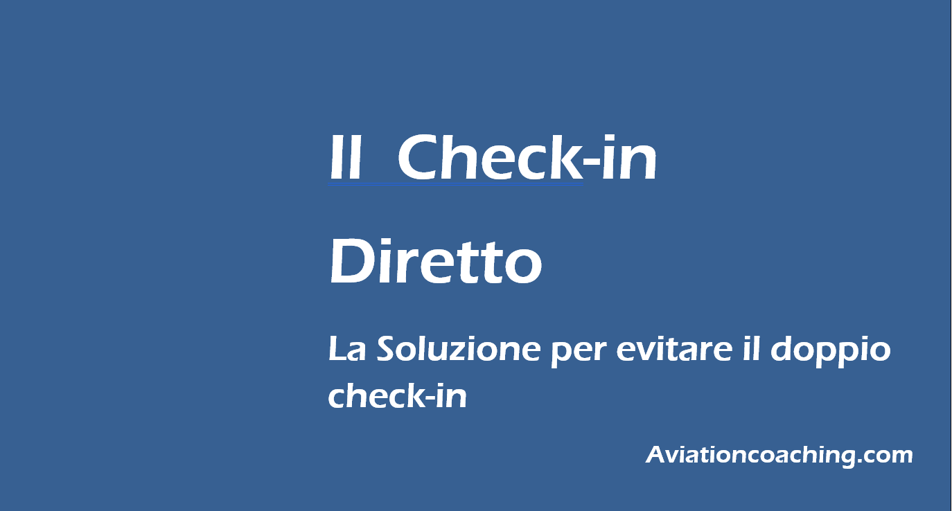 check-in diretto