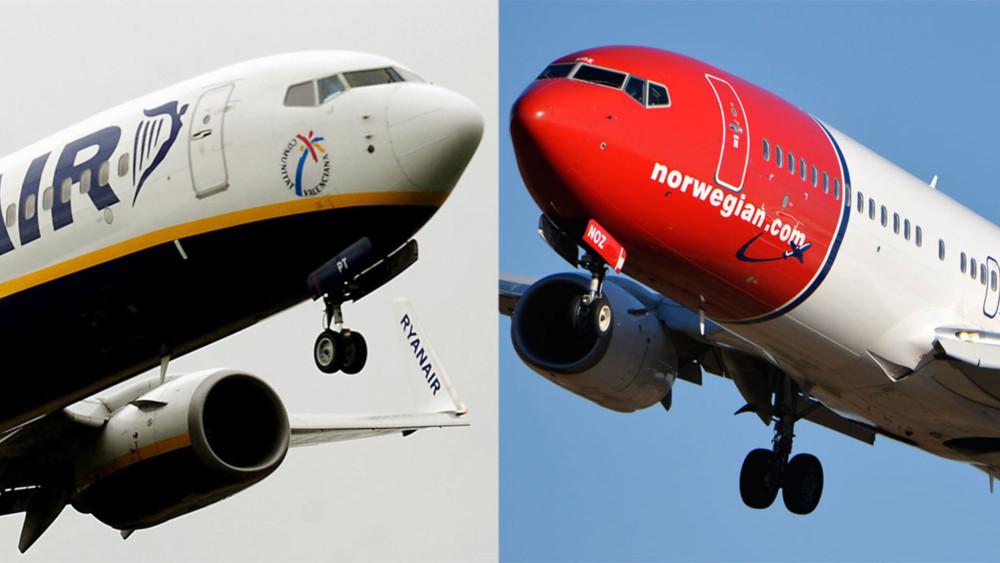 norwegian accordo ryanair