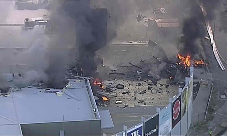 incidente aereo australia
