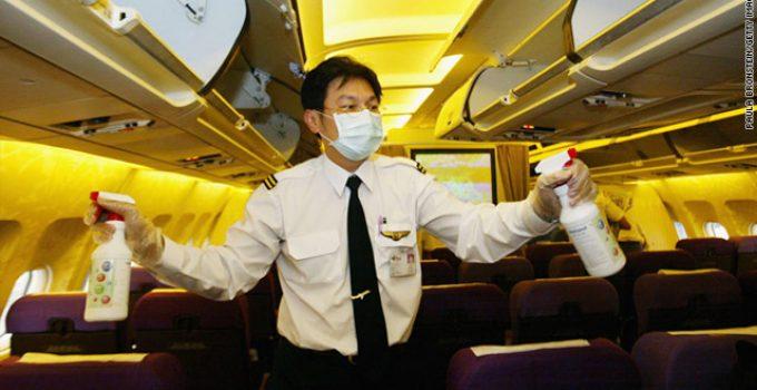 batteri in aereo