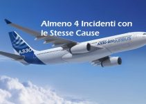 4 incidenti aerei con le stesse cause su airbus a330