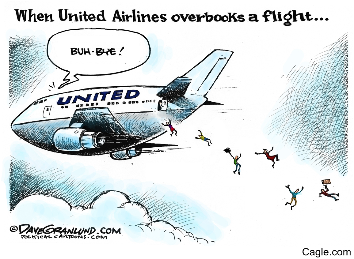 united overbooking