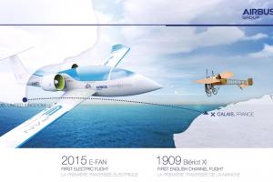 Airbus E-Fan-cross-Channel