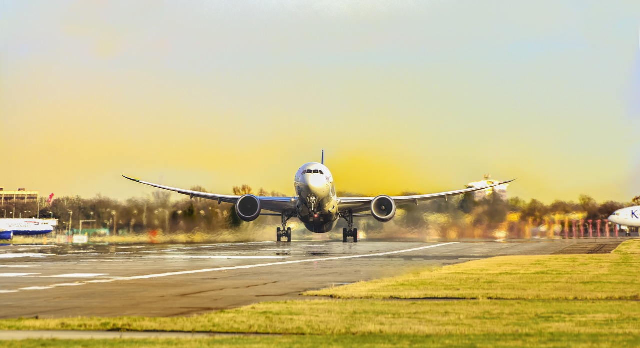 come vola un aereo