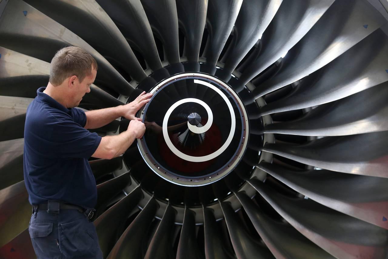 spirale sui motori a jet