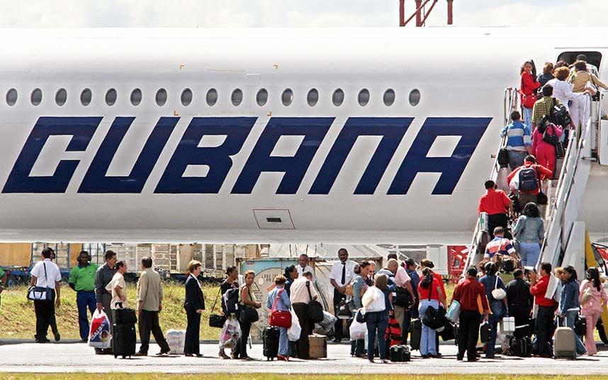 incidente aereo a cuba