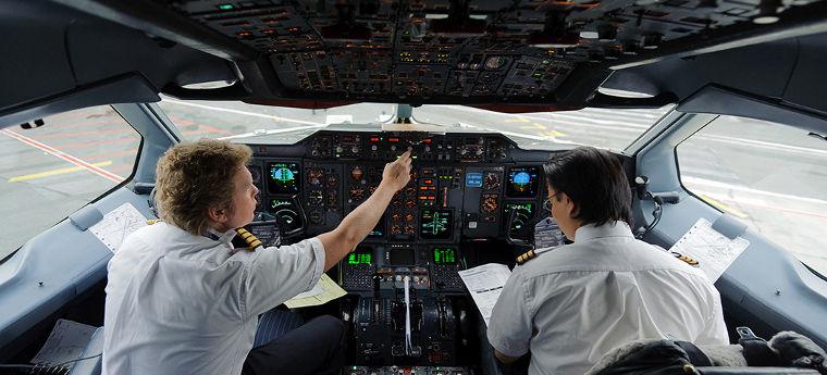 addestramento piloti di linea