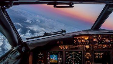 strumenti barometrici cabina di pilotaggio