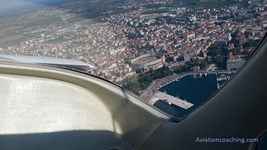 accumulare ore di volo turistico