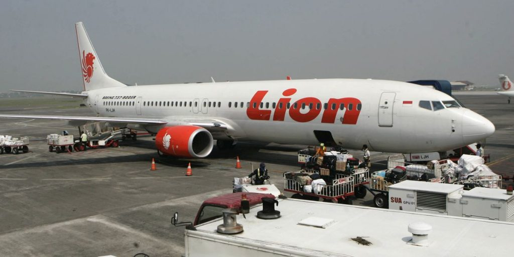 lion air incidente aereo