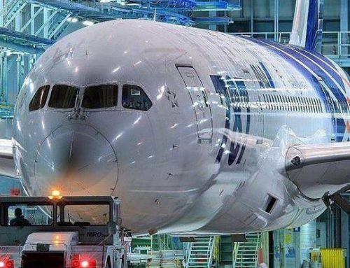 Esplorazione del Boeing 787 Dreamliner