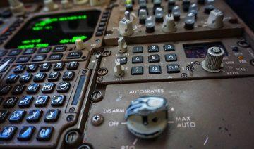 auto brake aereo di linea